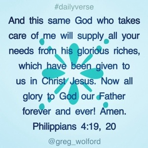 Philippians 4 19 20 Loose Him And Let Him Go