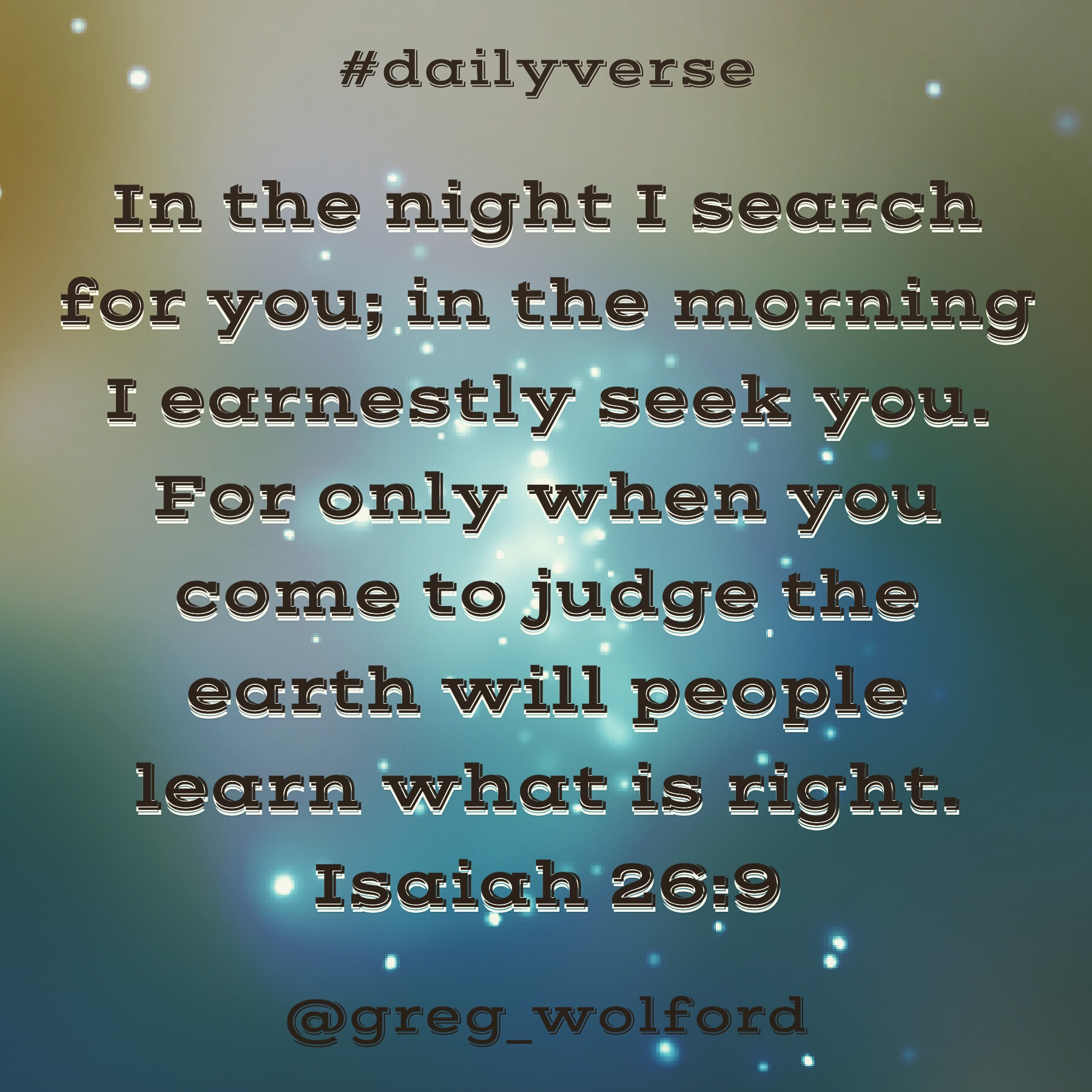 Image result for Isaiah 26:9