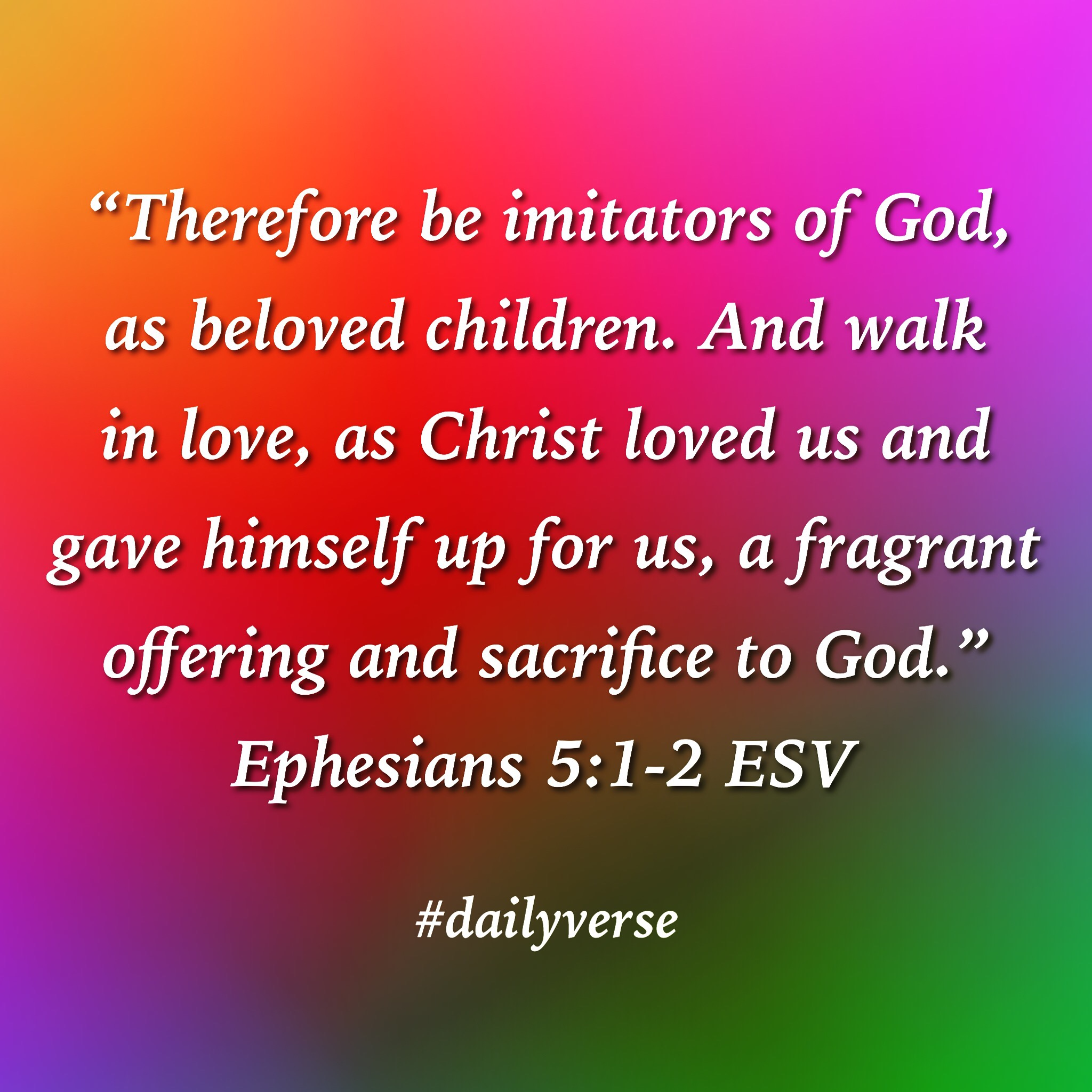 Image result for Ephesians 5:1-2