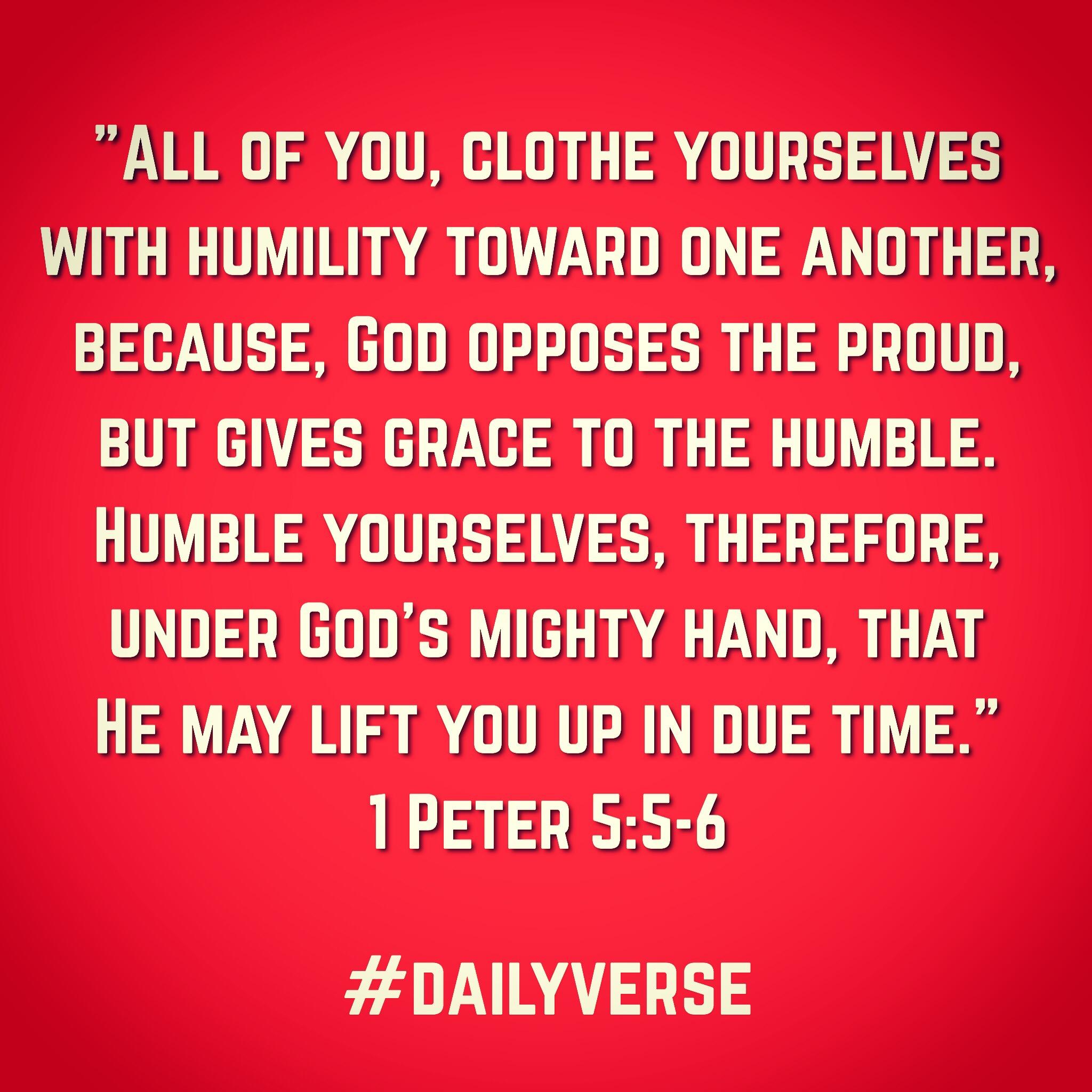 1 Peter 5:5-6
