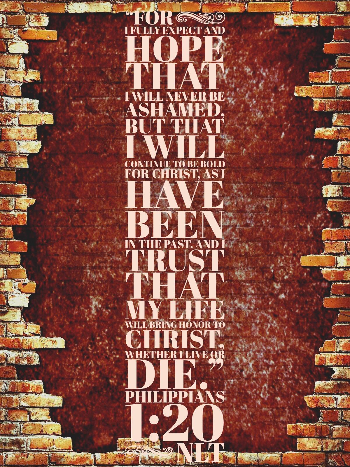 Philippians 1:20