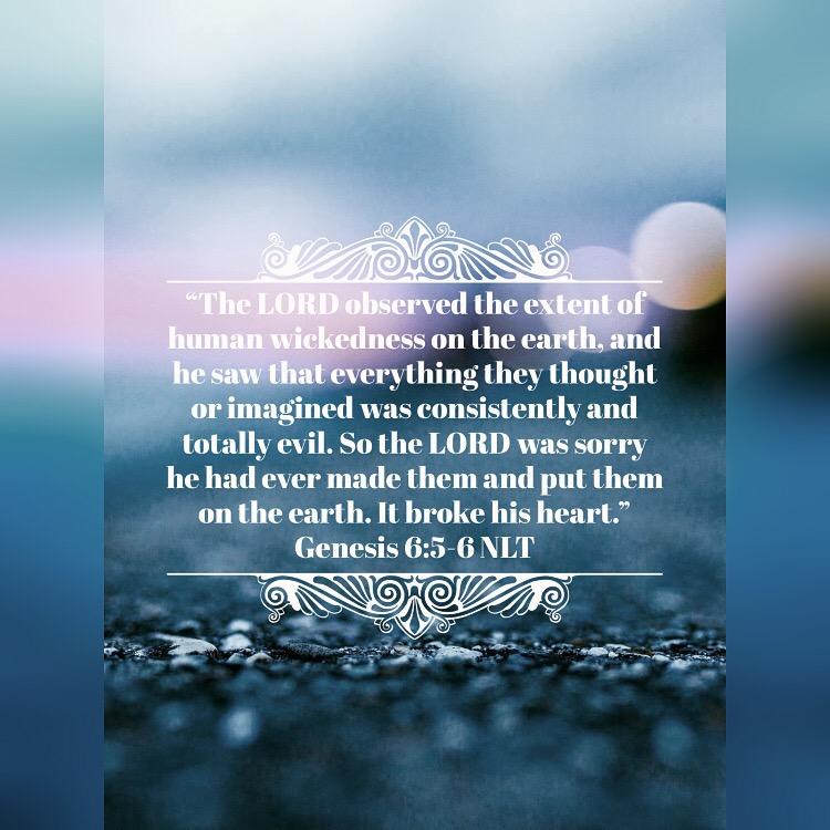 Genesis 6:5-6