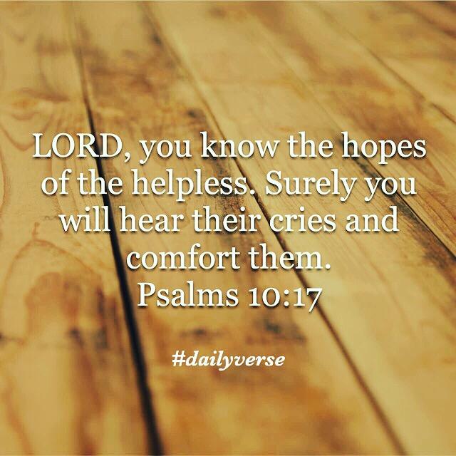 Psalms 10:17