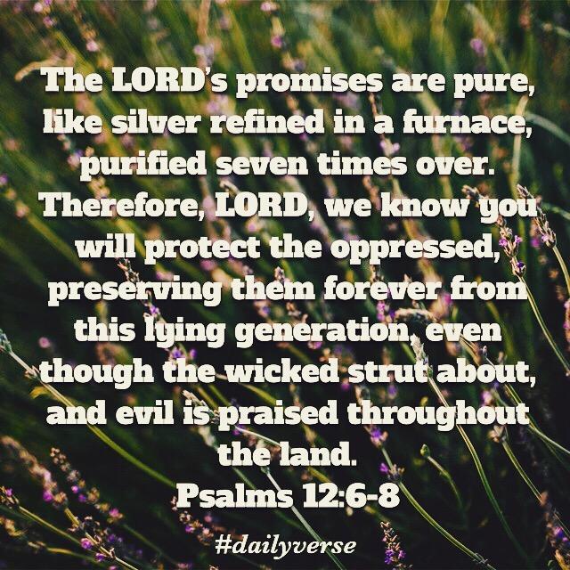 Psalms 12:6-8