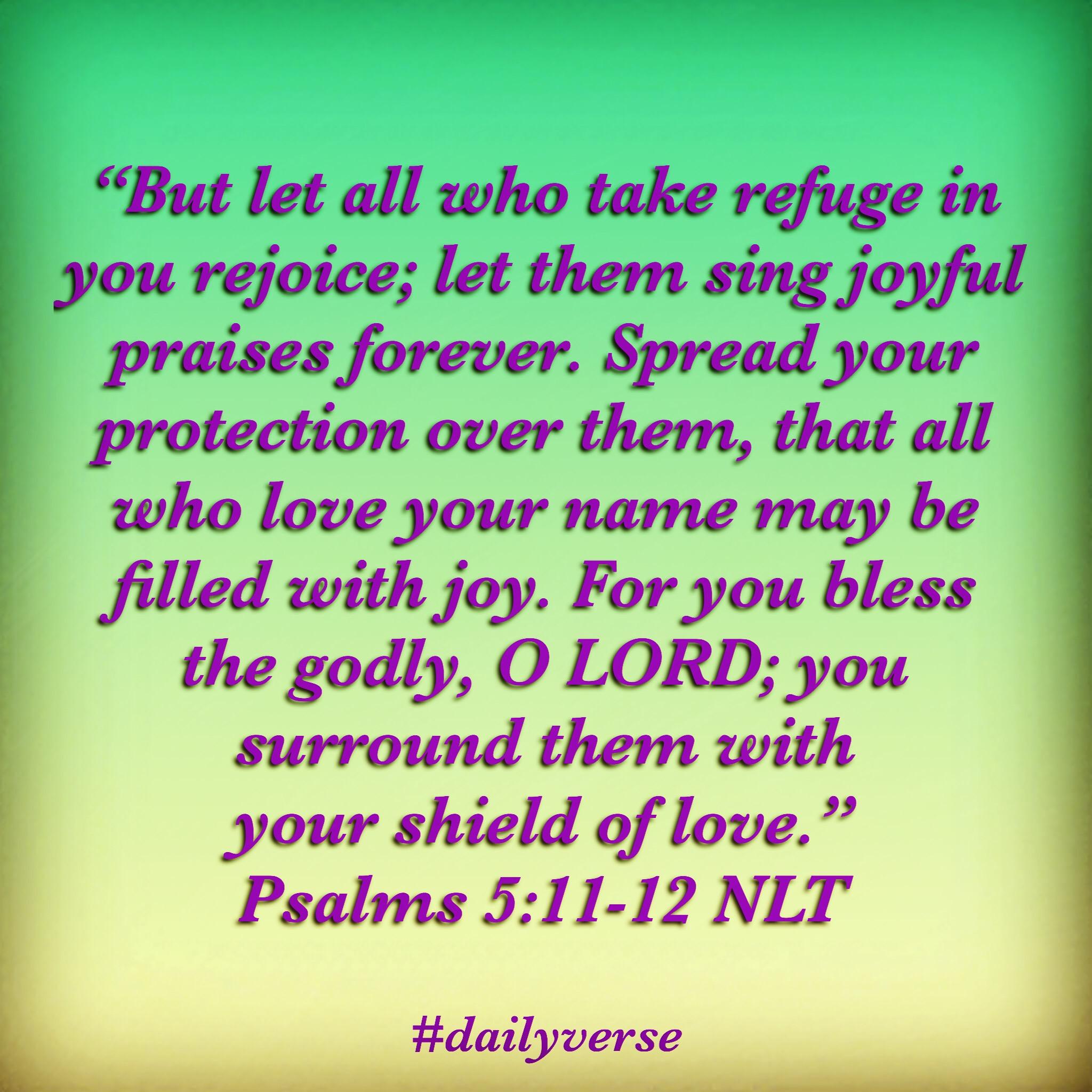 Psalms 5:11-12