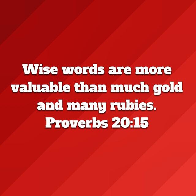 Proverbs 20:15