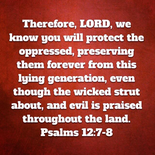 Psalms 12:7-8