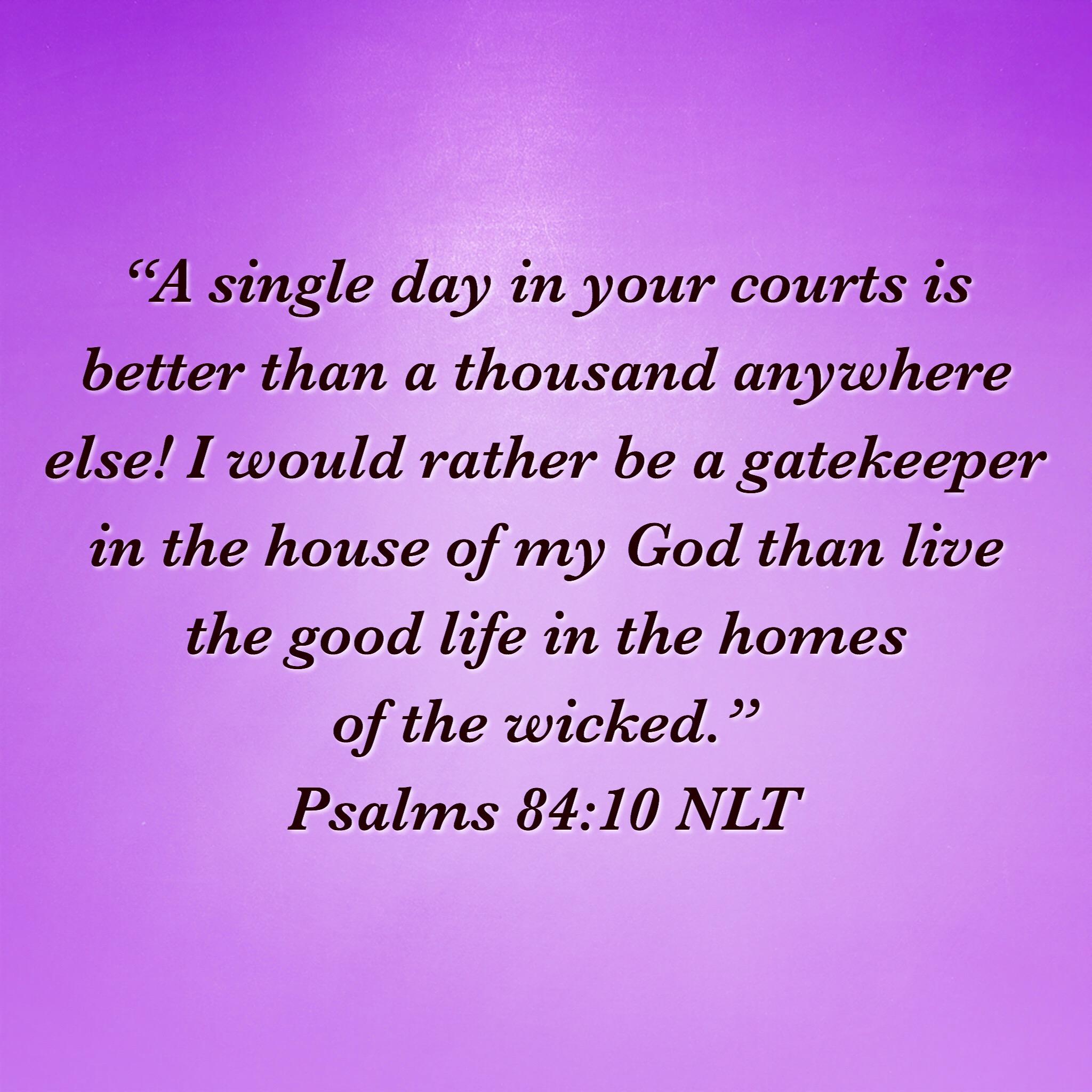 Psalms 84:10